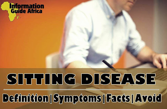 What Is Sitting Disease?