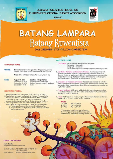 BatangLampara, BatangKuwentista: Lampara Storytelling Competition 2016, now on its 5th Year