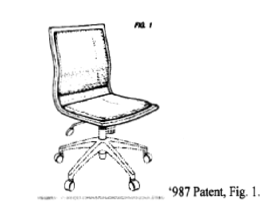 Chair Design Patent Wooden High Straps Your Hotel Desk May Be Patented The National Law Review 897 Is A Reminder That Even Seemingly Utilitarian Items Such As Task Chairs Can Potentially Subject To Protection