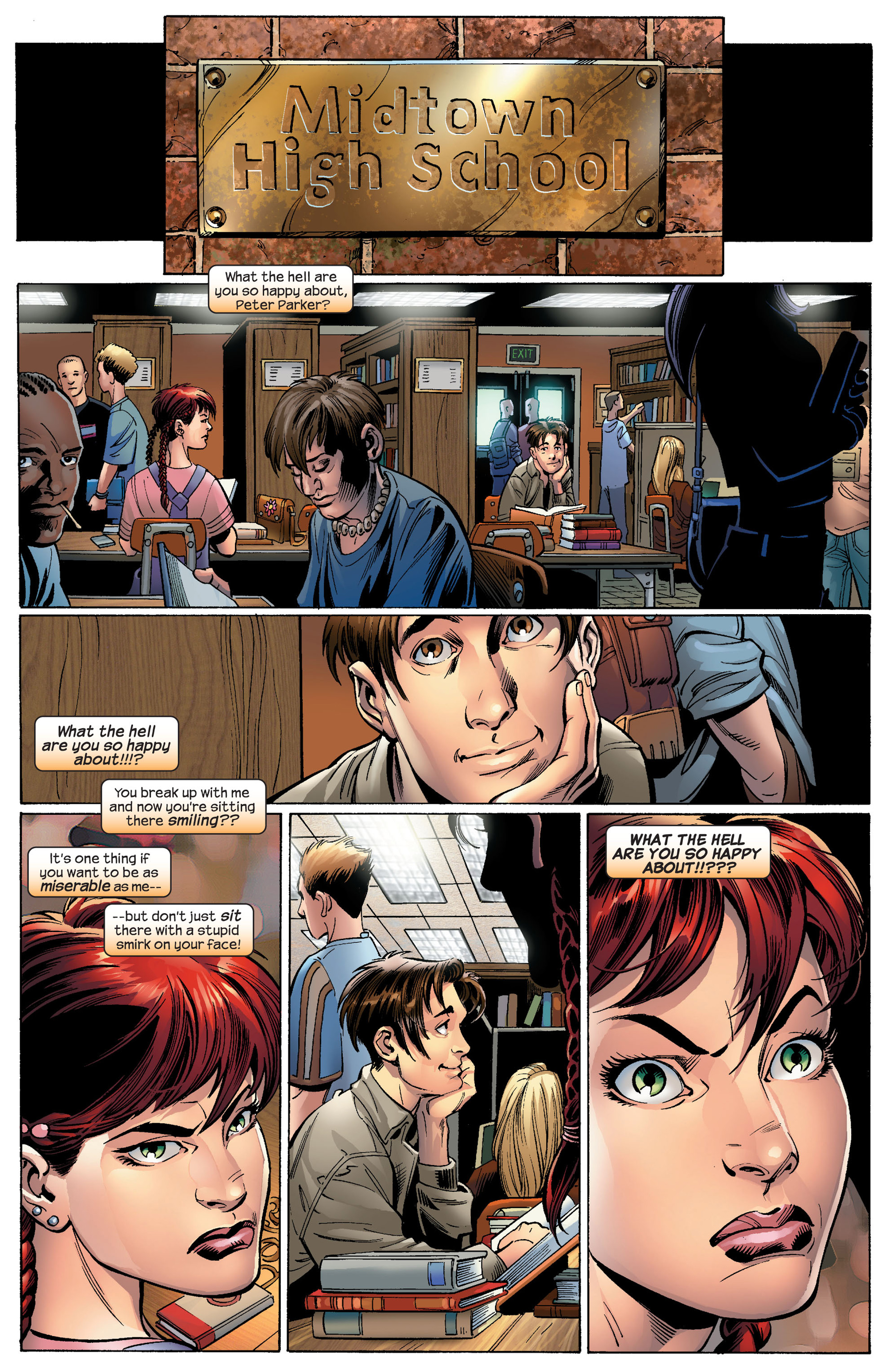Read online Ultimate Spider-Man (2000) comic -  Issue #87 - 3