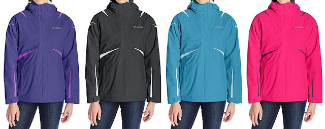 Columbia Blazing Star Interchange Jacket $126-$130 (reg $220)