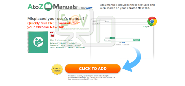 AtoZ Manuals Toolbar
