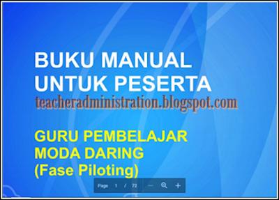 Download Buku Panduan Manual Untuk Peserta UKG 2017