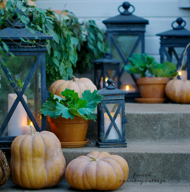 French Country Friday- autumn porch