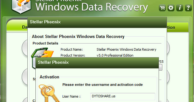 Data recovery for windows.