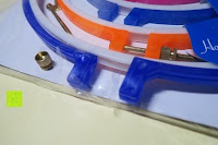 Verpackung beschädigt: 5 Teiliges Handi-Stitch Stickrahmen und Kreuzstich Set– 12,7 bis 28 cm ( Größen (28cm, 24cm, 20,5cm, 16,5cm & 12,7cm) – Verschiedene Farben