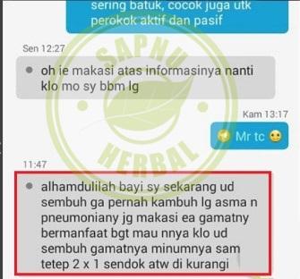 Obat Bronkopneumonia Utk Semua Usia yg TERBUKTI Manjur!!