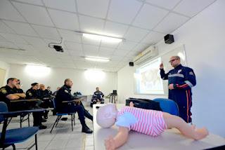 SAMU realiza treinamento para policiais da GCM em São Bernardo