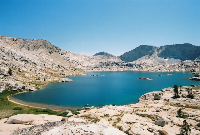 Hell for Sure Lake, Kings Canyon National Park, John Muir Wilderness California, Hiking and Backpacking High Sierra Lakes