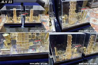 miniatur gas, miniatur pabrik,miniatur pertamina,miniatur pt gas negara,miniatur kilang minyak,miniatur perusahaan