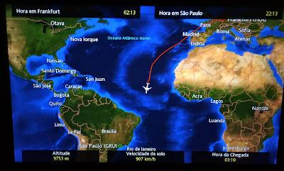 From Frankfurt to Sao Paulo