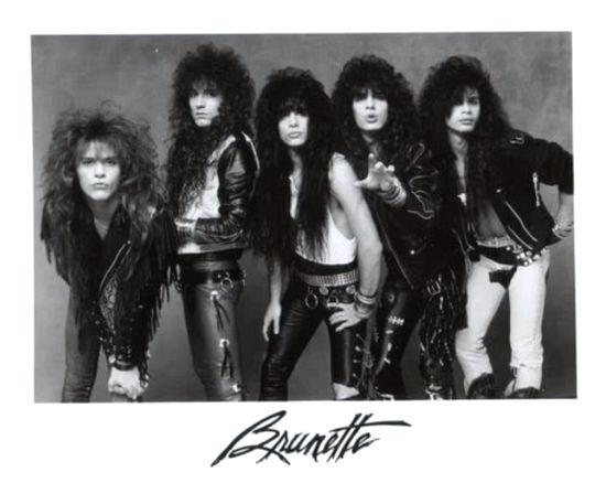 BRUNETTE (pre- Hardline) - Rough Demos [CD release] inside