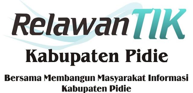 Relawan TIK Kabupaten Pidie