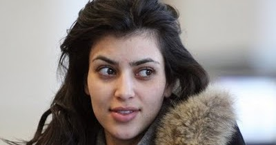Kim Kardashian Without Makeup Photos