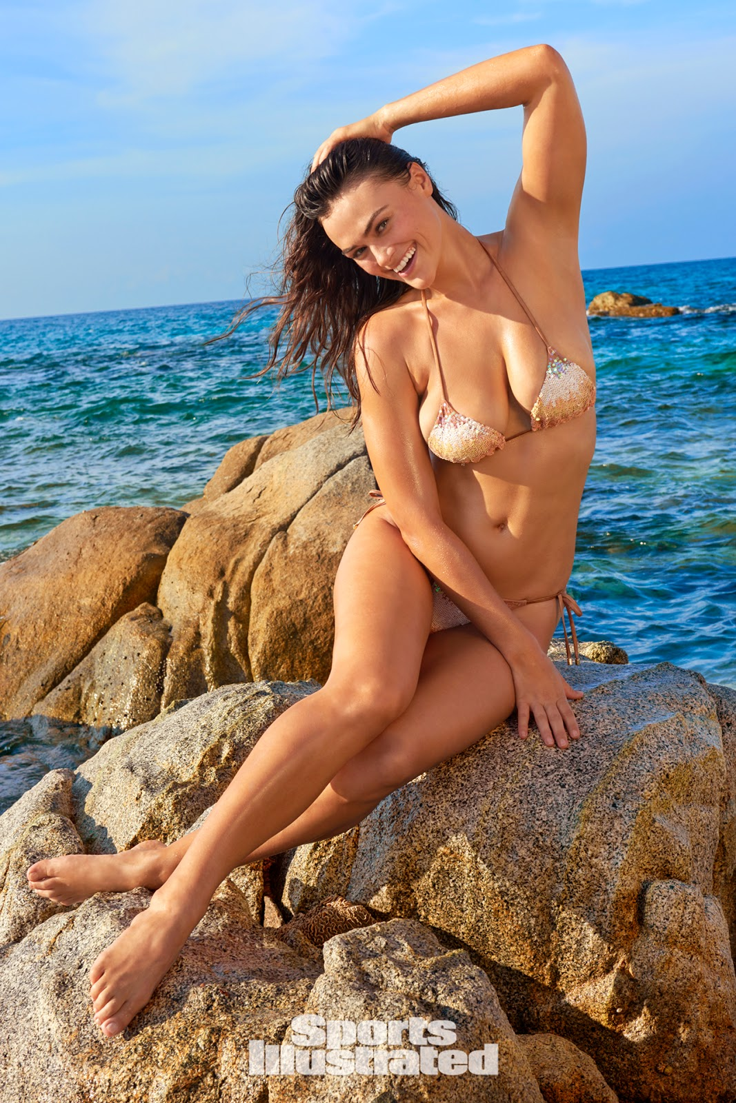 Myla Dalbesio was photographed by Yu Tsai in Aruba
