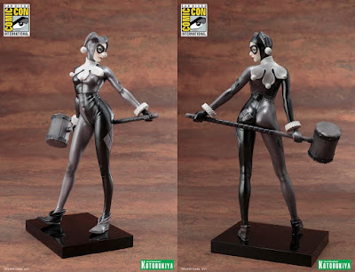 San Diego Comic-Con 2017 Exclusive Harley Quinn A Night In Gotham Edition ARTFX+ Statue by Kotobukiya x DC Comics