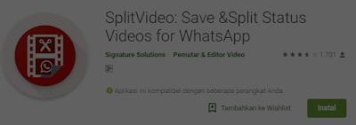 Cara Mudah Upload Video di Status Whatsapp dengan Durasi Panjang
