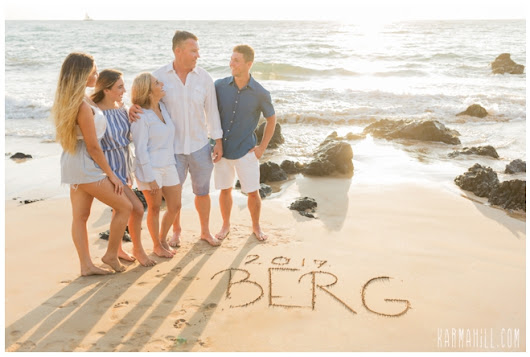 Another Part Of A Whole Lotta Fabulous - The Berg Family's Maui Portraits