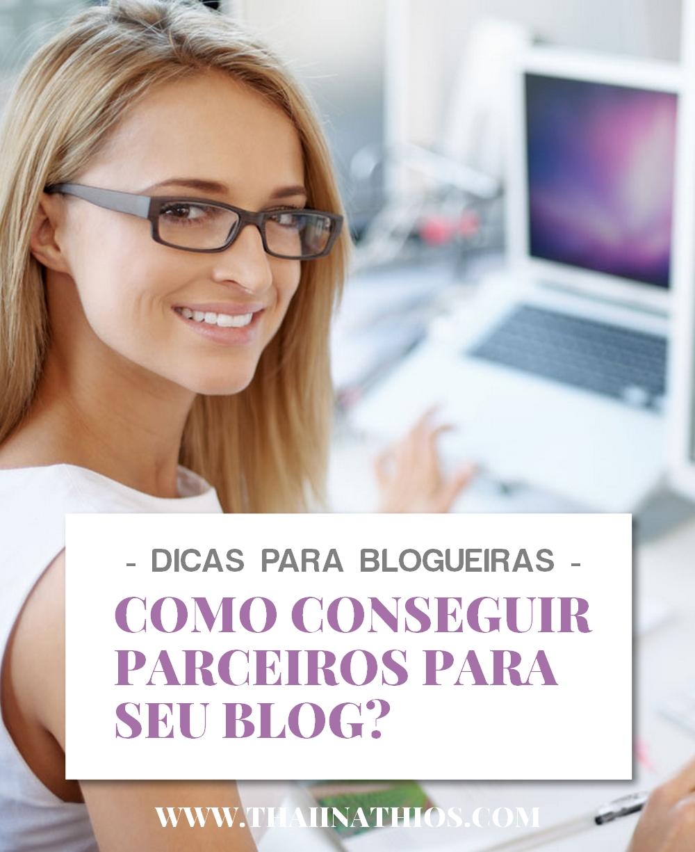 Como Conseguir Parceiros para seu Blog