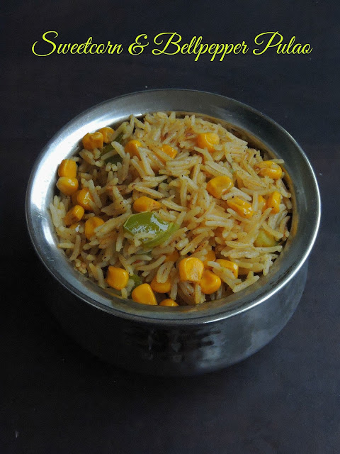 Sweetcorn & Bellpepper Pulav