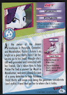 My Little Pony Rarity Series 4 Trading Card