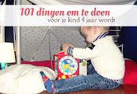 101 dingen om te doen - voor je kind 4 jaar wordt
