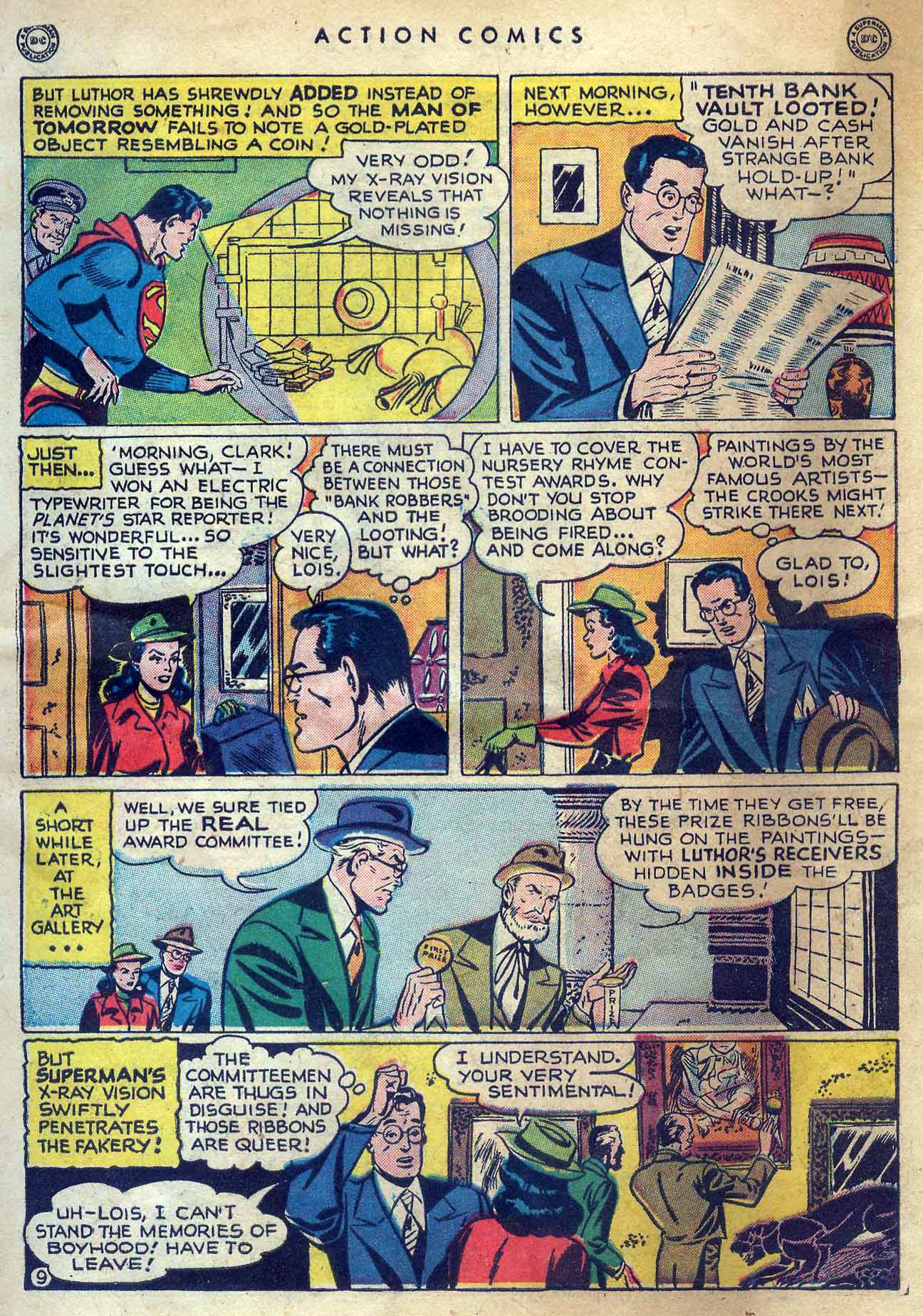 Read online Action Comics (1938) comic -  Issue #131 - 11