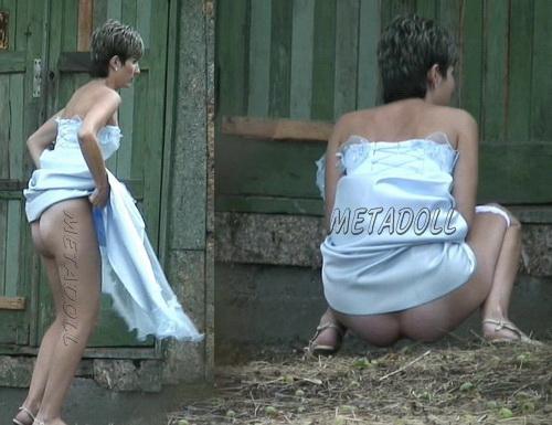 PissHunters 6100-6199 (Toilet hidden cam compilation. Women pissing outdoor on hidden cam)