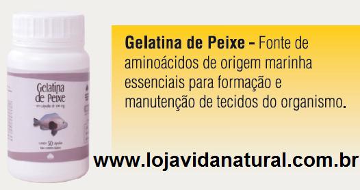 Gelatina de Peixe Medinal 50 Cápsulas