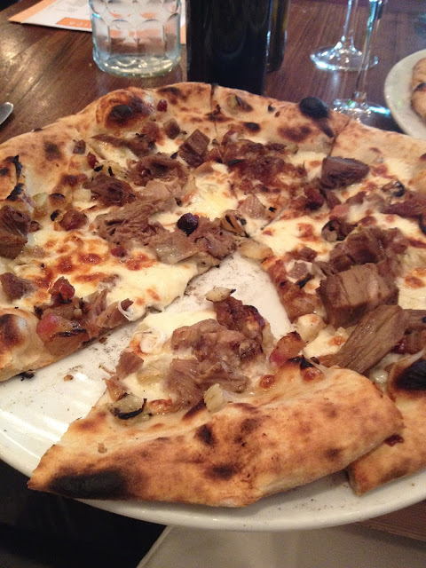 pizza at Domenica in New Orleans, LA