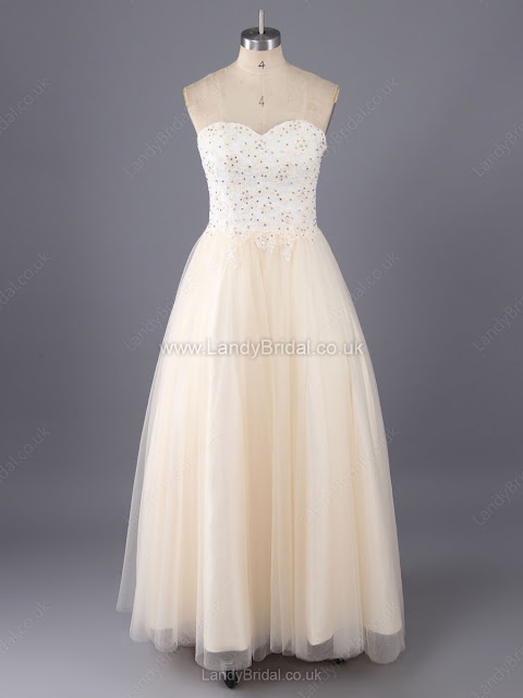 Princess Satin Tulle Sweetheart Floor-length Sequins Prom Dresses