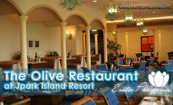 The Olive Restaurant at Jpark Island Resort