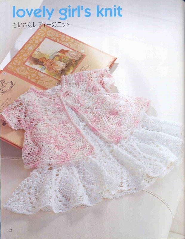 Vestido y Chaqueta Infantil