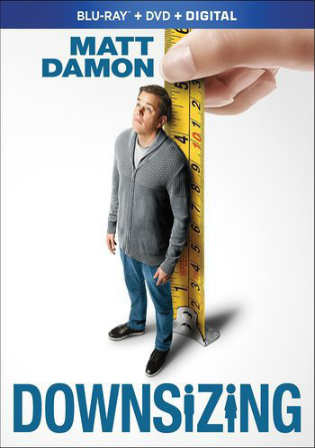Downsizing 2017 BRRip 350MB English 480p ESub Watch Online Full Movie Download bolly4u