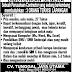 Teknisi lapangan - CV. TUNGGAL JAYA UTAMA - Info loker : Jumat 07 Oktober 2016