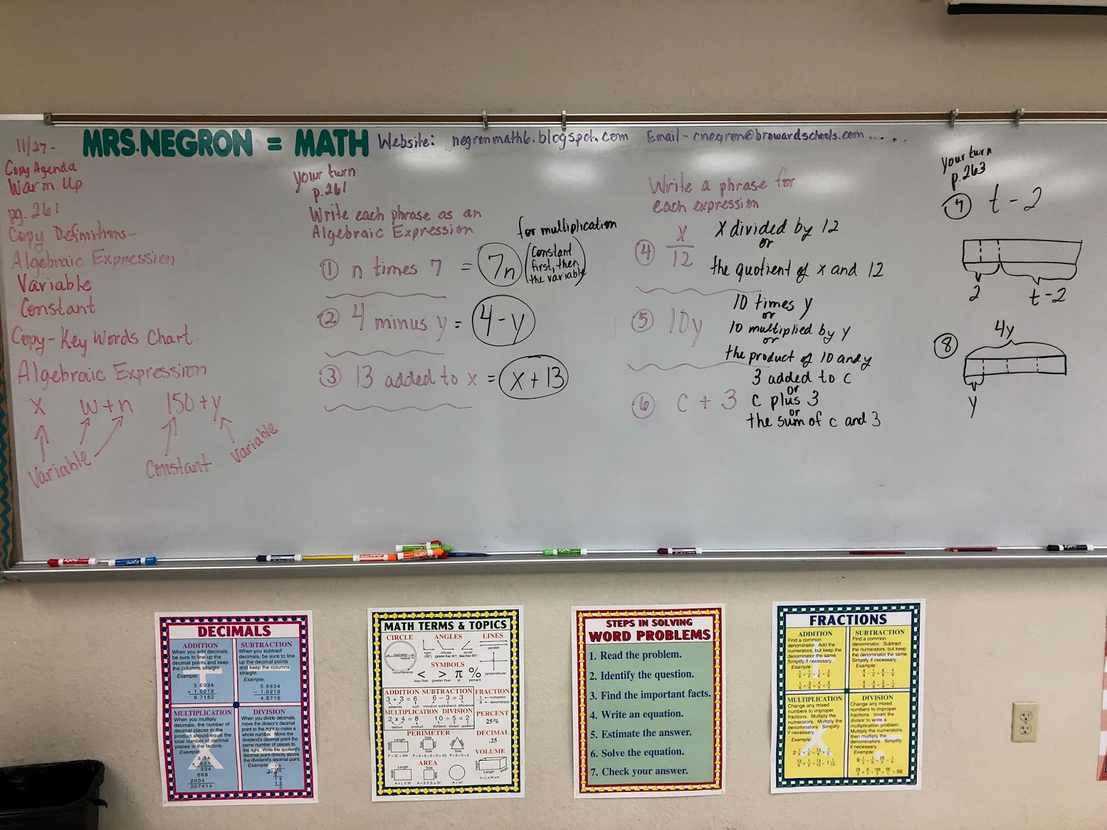 facing math lesson 11 writing and evaluating expressions in math