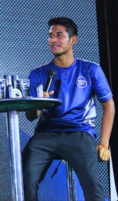 Putu Gede merupakan pemain timnas sepak bola Indonesia