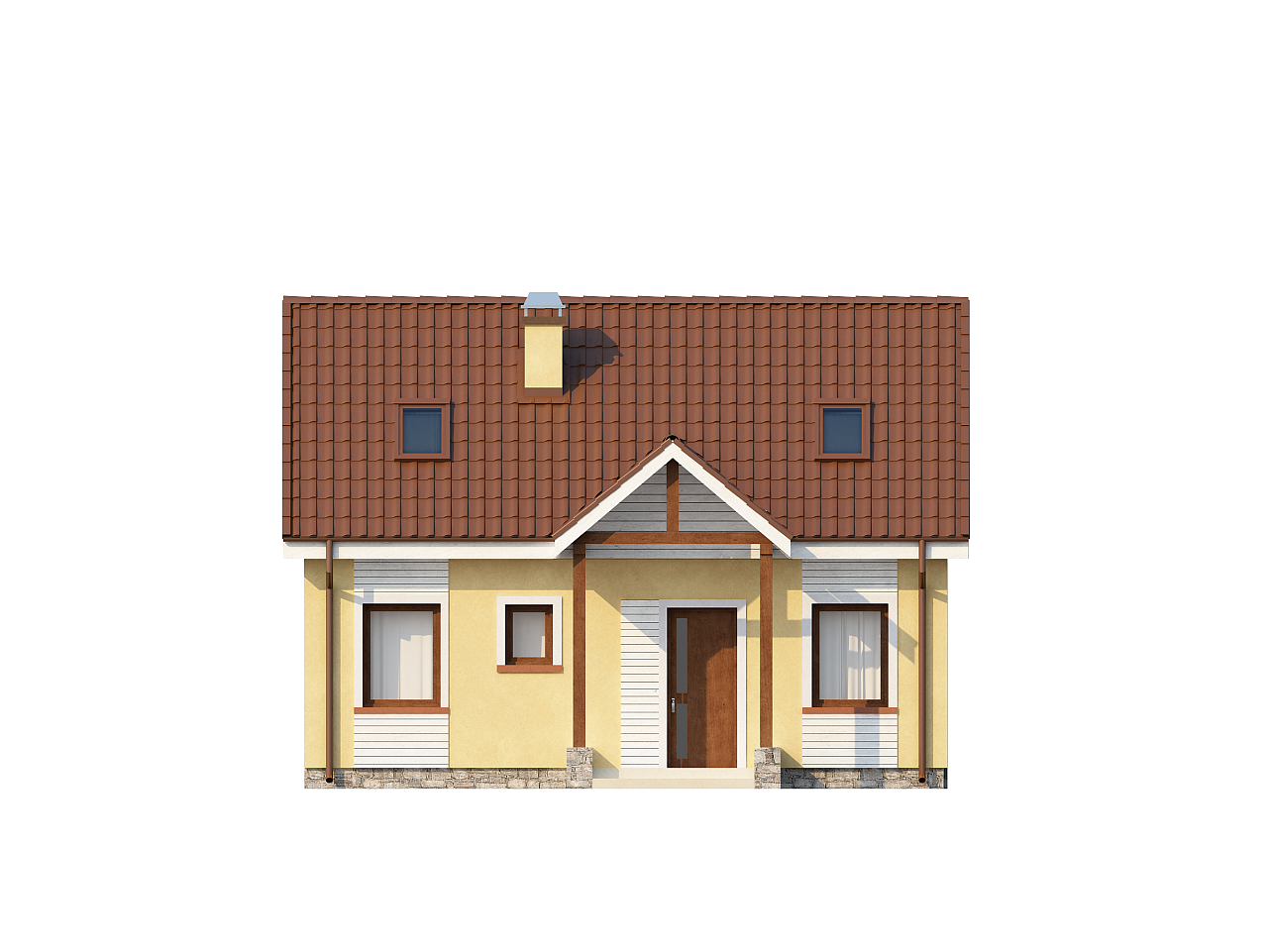If you're looking to downsize, we have some small house with floor plans you'll want to see! Our small houses are under 79 square meters, but they still include everything you need to have a comfortable, complete home. These houses consist of 1-2 bedrooms, 1 bathroom, 1 kitchen, and a living room.