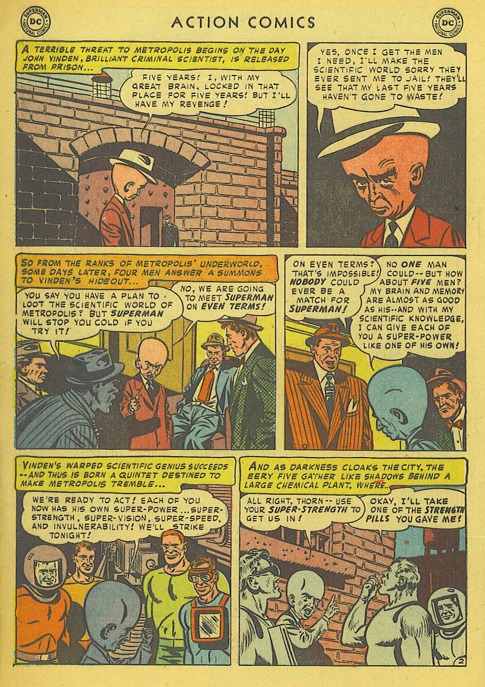 Read online Action Comics (1938) comic -  Issue #175 - 4
