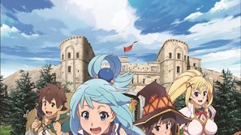 KonoSuba tiene nueva imagen promocional y personajes para su segunda temporada