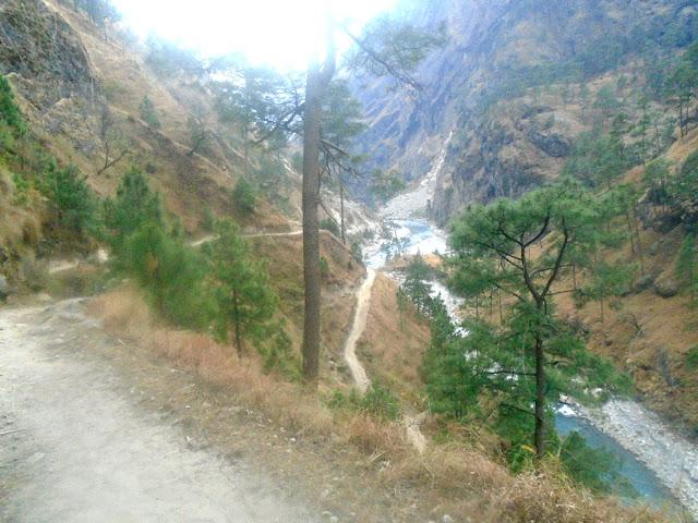 Manaslu trekking route