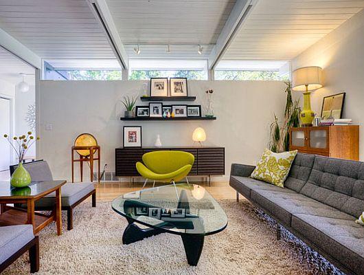 apartment intervention mid century modern. Black Bedroom Furniture Sets. Home Design Ideas