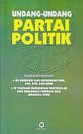 Judul Buku : UNDANG-UNDANG PARTAI POLITIK Pengarang : Tim Penyusun Penerbit : Pustaka Pelaja