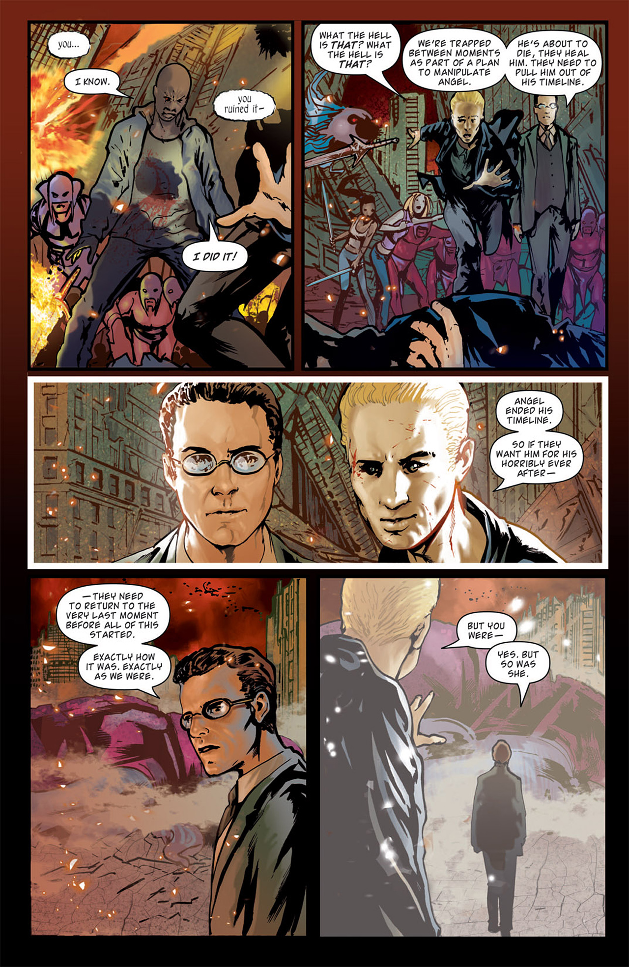 Read online Angel: After The Fall comic -  Issue #16 - 13