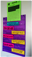 Guided Math vocabulary and pocket charts can be used to help teach the Guided Math lessons.
