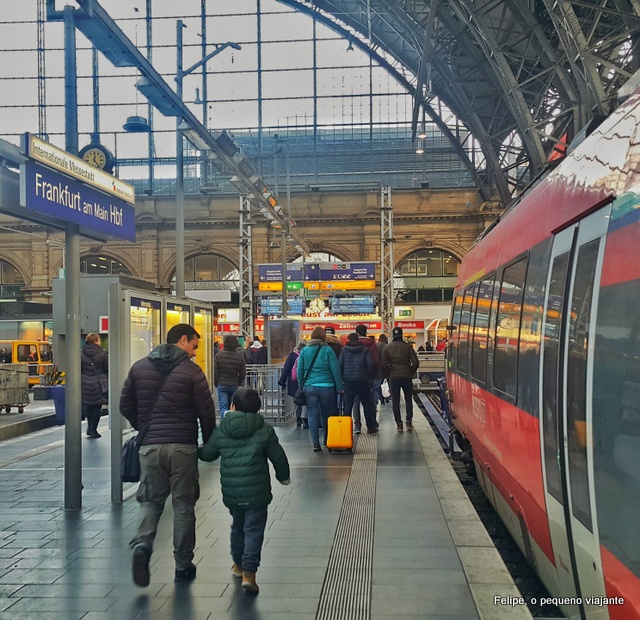 Hauptbahnhof de Frankfurt