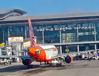 حیدرآباد کے شمس آباد ایرپورٹ پر سیکیورٹی سخت