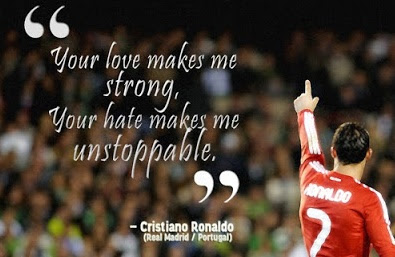 kata-kata bijak inspiratif dari cristiano ronaldo