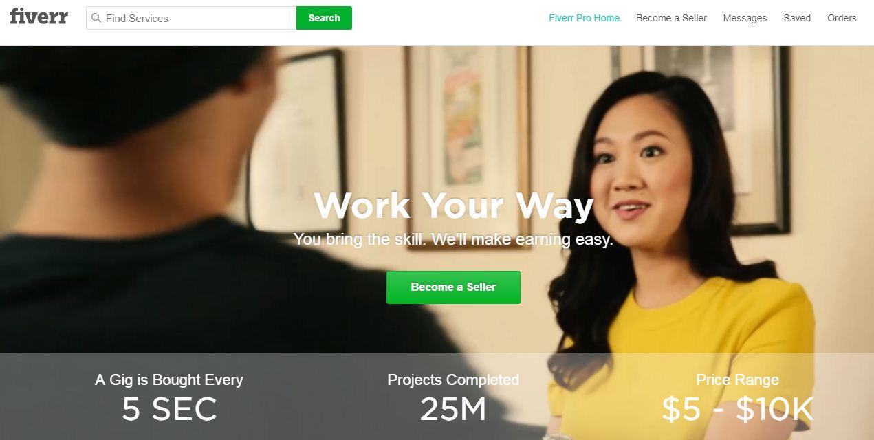 Cara Daftar Dan Menghasilkan Uang Di Fiverr Blog Unik Indonesia