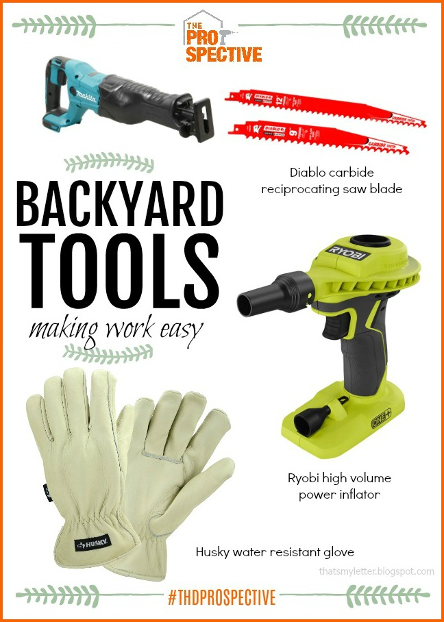 backyard tools making chores easy